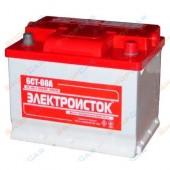 Аккумулятор ЭЛЕКТРОИСТОК  6СТ- 50 Ah  400А(ЕN) 207/175/175