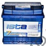 Аккумулятор  ISTA 7  52Ah   510A  207/175/190