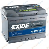Аккумулятор EXIDE  77Ач  760 A  278/175/190