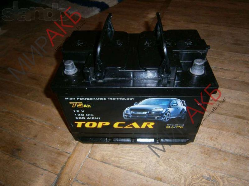 Аккумулятор  TOPCAR  50Ah   400A  207/175/190