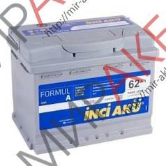 Аккумулятор  YIGITAKU 62Ач  600А  242/175/190