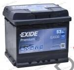 Аккумулятор  EXIDE 53Ач  470 A  242/175/175