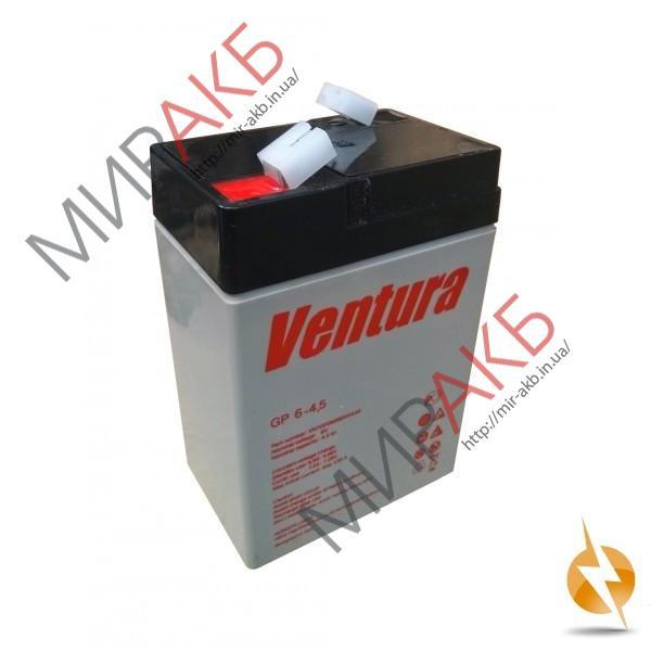 Промышленные аккумуляторы- технологии AGM VENTURA GP6-4,5