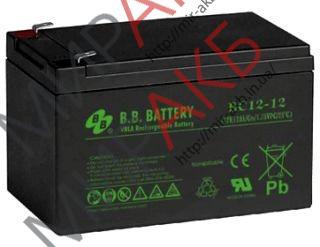 Промышленные аккумуляторы- технологии AGM ВВ ВС12-12 FR