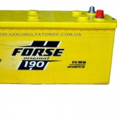 Аккумулятор  FORSE 190Ah   1150A  513/223/223