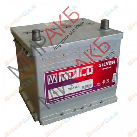 Аккумулятор  MUTLU 55Ач азия хюндай 500 А   207/175/175
