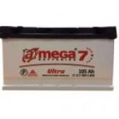 Аккумулятор  amega ultra м7   6СТ- 105Ah   960A  352/175/190
