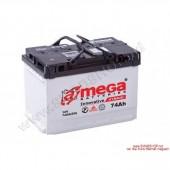Аккумулятор  amega ultra м7 6СТ- 75Ah   790A  276/175/190