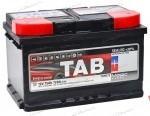 Аккумулятор  TAB 75Ач  720А  278/175/190
