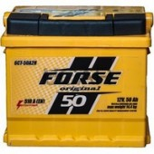 Аккумулятор  FORSE  50Ah   400A  207/175/190
