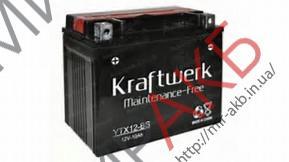 МОТО KRAFTWERK YTX4L-BS 12V 3Aч