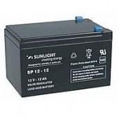 Aккумуляторы-технологии AGM SUNLIGHT SF12-12  12V 12A