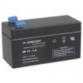 Aккумуляторы-технологии AGM SUNLIGHT SF12-1.3  12V 1.3A